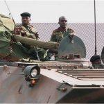 بوادر انقلاب عسكري في زيمبابوي