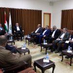 هنية يبحث تطورات المصالحة مع المبعوث السويسري للسلام في الشرق الأوسط