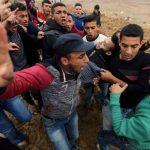 إصابة 3 فلسطينيين برصاص الاحتلال في مواجهات شرق خان يونس
