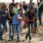 إصابة فلسطينيين اثنين خلال مواجهات بين المتظاهرين والاحتلال شمال غزة