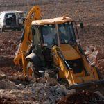 الاحتلال يجرف 500 دونم جنوب نابلس لصالح الاستيطان