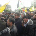 غزة.. الآلاف من أنصار فتح يتظاهرون دعما للقدس