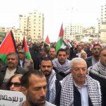 إصابة العشرات بحالات اختناق في مواجهات عنيفة مع قوات الاحتلال بالضفة الغربية