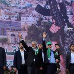 وفد من حماس بقيادة هنية يتجهة للقاهرة