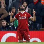 فيديو  مشجعو ليفربول يغنون للنجم محمد صلاح «إنه مصري رائع»