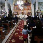 الحزن يخيّم على احتفالات الكاثوليك بعيد الميلاد في غزة