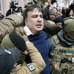 أوكرانيا تعتقل رئيس جورجيا السابق وحالة من الفوضى تسود البلاد