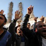 مظاهرات بالأزهر الشريف اعتراضا على قرار ترامب بشأن القدس