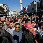 إضراب عام في مخيم البقعة بالأردن احتجاجا على قرار ترامب بشأن القدس