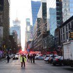 فيديو| مراسل «الغد»: الشرطة الأمريكية تستجوب المشتبه به في حادث مانهاتن