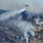 حريق الغابات توماس في طريقه ليكون ثالث أكبر حرائق كاليفورنيا
