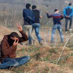 فيديو| مراسلة الغد: ارتفاع عدد المصابين في المواجهات إلى 9 بقطاع غزة