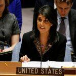 سفيرة أمريكا بالأمم المتحدة: صاروخ الحوثي على الرياض يحمل بصمات إيران