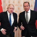 لافروف: روسيا مستعدة للحوار مع بريطانيا على قدم المساواة