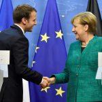 ميركل تلجأ لماكرون بشأن إصلاح أوروبا بعد تصاعد التوترات مع ترامب