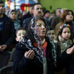 زغاريد في أول قداس للميلاد في الموصل منذ اندحار الإرهابيين