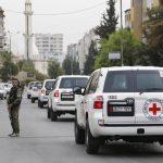 الصليب الأحمر: البدء في عمليات إجلاء طبي من الغوطة الشرقية بسوريا