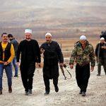 مقاتلو بيت جن يصلون إلى درعا في سوريا