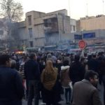 اعتقال 200 شخص خلال التظاهرات في طهران السبت