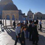 مستوطنون يقتحمون صحن قبة الصخرة في المسجد الأقصى