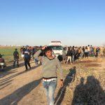 إصابة 40 فلسطينيا خلال مواجهات مع الاحتلال في قطاع غزة