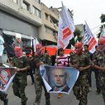 صور| تظاهرة في غزة تنديدا بالفيتو الأميركي