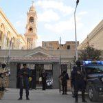 صور| دوريات الجيش والشرطة لتأمين إحتفالات أعياد الميلاد في مصر
