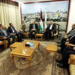 هنية يجتمع مع الوفد الأمني المصري لبحث آخر تطورات المصالحة الفلسطينية