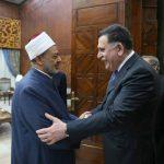 شيخ الأزهر:دعم ليبيا واجب ديني وقومي