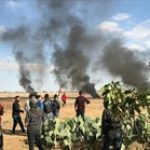 4 إصابات في المواجهات المندلعة في قطاع غزة