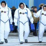 التحام المركبة سويوز بمحطة الفضاء الدولية