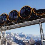 سويسرا تدشن أعلى قطار معلق في العالم