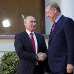 بوتين يزور تركيا ليبحث مع أردوغان تطورات الأوضاع في سوريا والقدس الاثنين