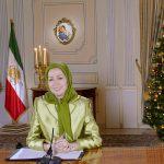زعيمة المقاومة الإيرانية توجه رسالة تهنئة للمسيحيين بعيد الميلاد المجيد