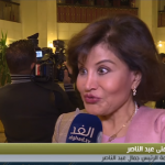 فيديو  ابنة جمال عبد الناصر: والدي كان يتمتع بالرقة والحزم