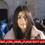 فيديو  مراسلة الغد: المجندات الإسرائيليات يعتدين على الطواقم الصحفية النسائية