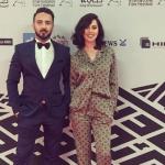 ياسمين رئيس تثير الجدل في مهرجان دبي السينمائي بـ«موضة البيجامة»
