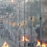 فيديو | المدن الفلسطينية تنتفض أمام قرار والاحتلال يستخدم القوة لتفريق المتظاهرين