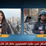 فيديو| مراسل «الغد»: استمرار المواجهات بين الفلسطينيين وقوات الاحتلال في الخليل وغزة