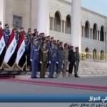 فيديو  رئيس الوزراء العراقي يعلن سيطرة قواته على الحدود السورية العراقية