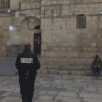 فيديو| قوات الاحتلال تمنع طاقم قناة «الغد» من التصوير في الحي المسيحي بالقدس