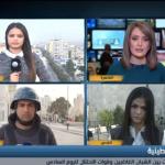 فيديو| شبكة مراسلي «الغد»: الاحتلال يعتدي على الطواقم الصحفية في بيت لحم