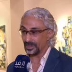 فيديو| مهاب عبدالغفار .. فنان تشكيلي تجسد لوحاته العقيدة المصرية القديمة