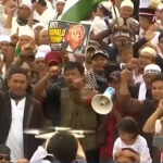 فيديو  انطلاق مسيرة في إندونيسيا لنصرة القدس