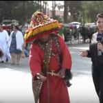 فيديو| ساحة «جامع الفنا».. ملتقى شعبي للترفيه بمدينة مراكش المغربية