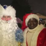 فيديو  أول احتفالية لرجال وسيدات وأطفال بابا نويل في روسيا