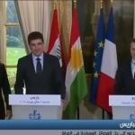 فيديو| ماكرون يدعو لحوار وطني في العراق وتفكيك الميليشيات المسلحة