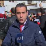 فيديو| عشرات التونسيين يشاركون الأحزاب في وقفة تضامنية نصرة للقدس