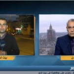 فيديو  مراسل «الغد»: يرصد اعتداءات قوات الاحتلال على الإعلاميين
