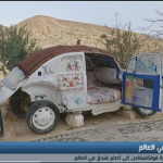 فيديو| أردني يحول سيارة «فولكسفاجن» إلى أصغر فندق في العالم